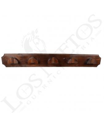 Percha de madera para cabezales | 5 perchas