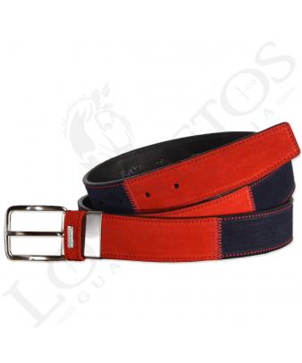 Cinturón Patchwork Raya | Rojo
