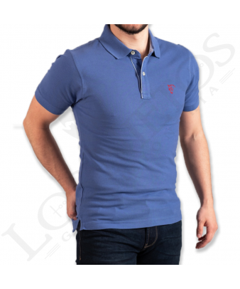 Polo Oxford La Garrocha   Azul