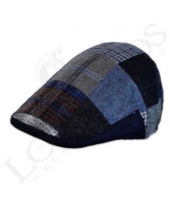 Gorra Jockey | Patchwork Azul