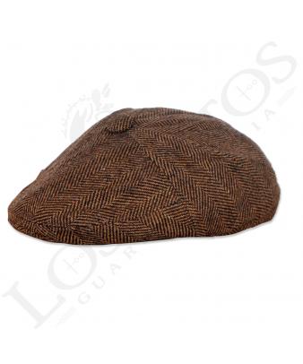 Gorra Italiana Marrón
