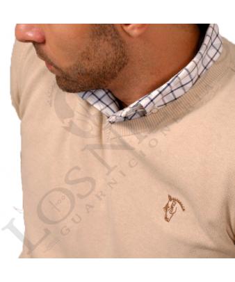 Jersey de pico con coderas 'La Garrocha' | Nude
