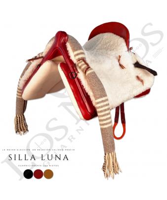 Silla Vaquera Luna | Cereza (Bastes Látex)