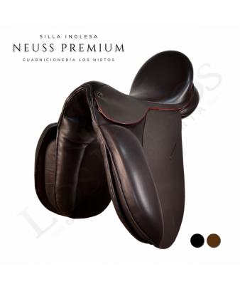 Silla Inglesa Doma Premium 'Neuss' | Marrón