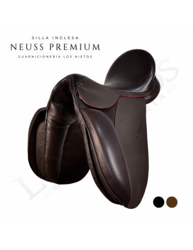Silla Inglesa Doma Premium 'Neuss'   Marrón
