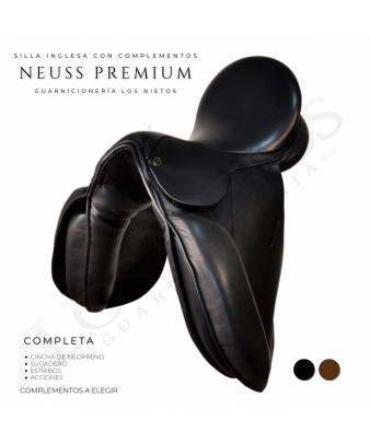 Silla Inglesa Doma Neuss Premium Completa | Negra