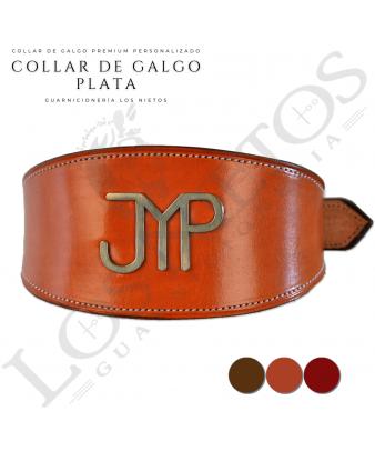 Collar de Galgo Los Nietos Personalizado   Plata