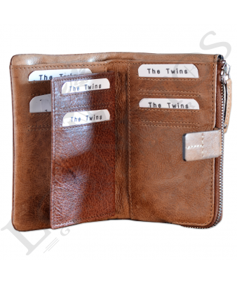 Billetera señora SLL30118LL| Coñac