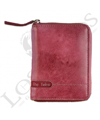Billetera señora con cremallera LIB02527LL | Violeta