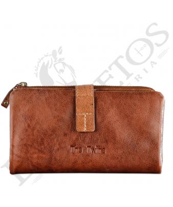 Billetera señora SLL29118LL| Coñac