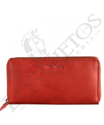 Billetera señora cremallera CRM0256LL | Cuero